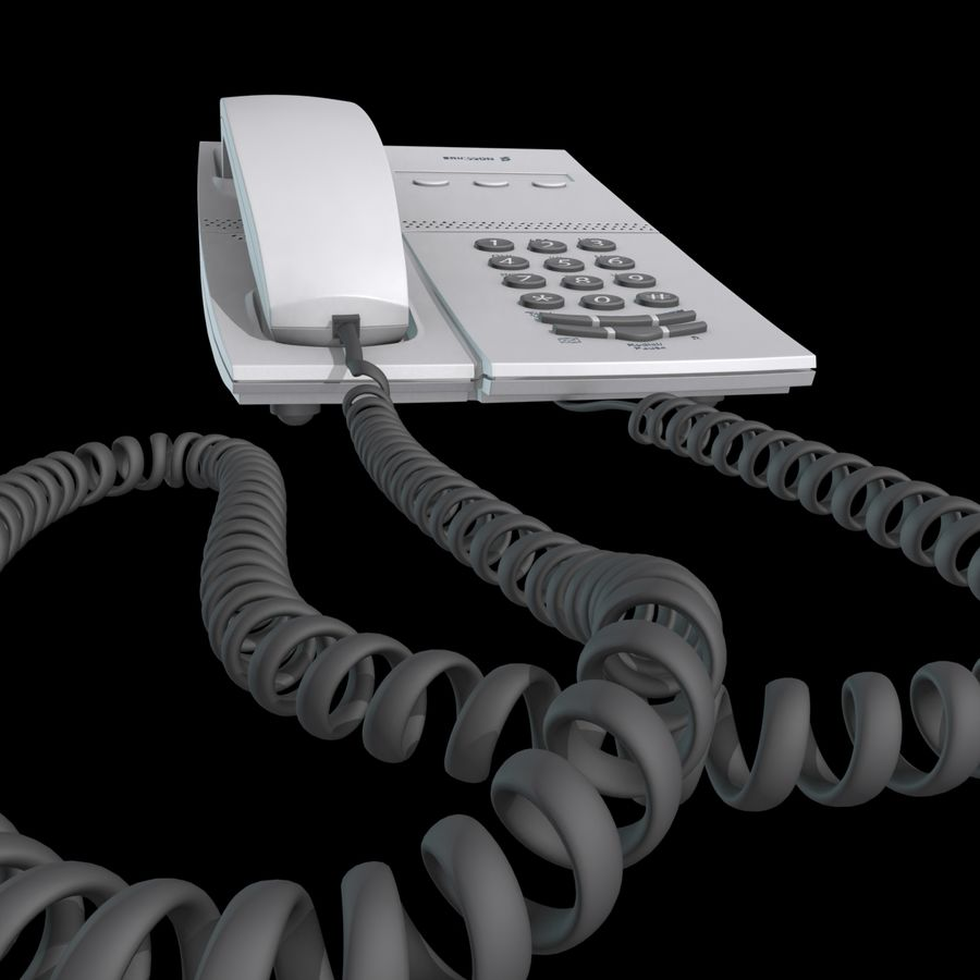 Telefone comercial Ericsson Dialog 4106 royalty-free 3d model - Preview no. 11