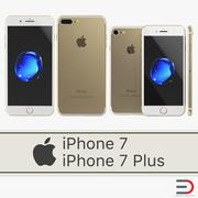 Coleção de modelos 3D para iPhone 7 3d model