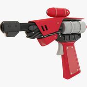 科幻小说手枪 3d model