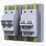Alimentazione elettrica 3d model