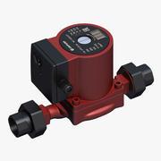 Heating pump 3d model