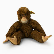 Stuffed Toy Monkey 3d model