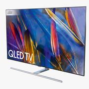 Samsung Q7F TV QLED de 55 polegadas 3d model