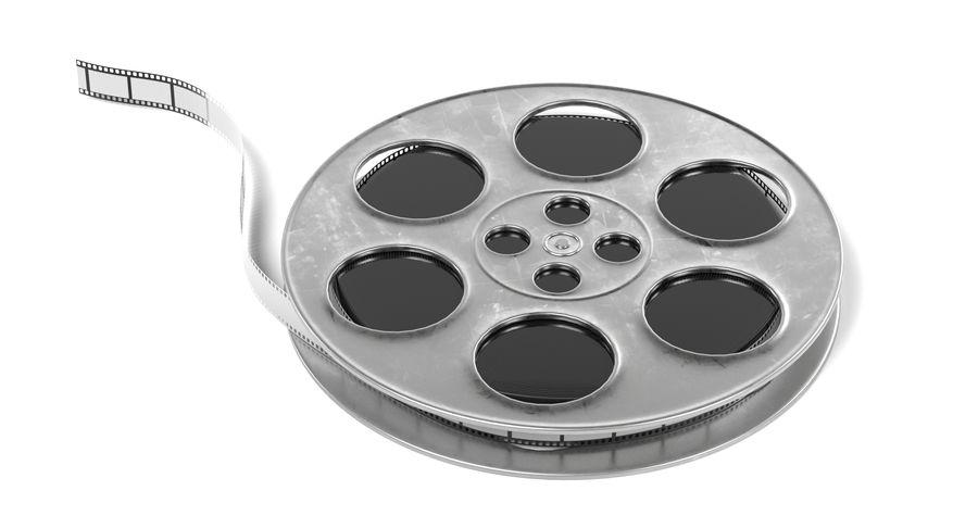Film Reel royalty-free 3d model - Preview no. 4