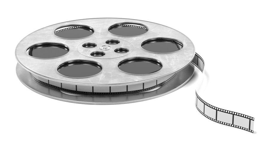 Film Reel royalty-free 3d model - Preview no. 5