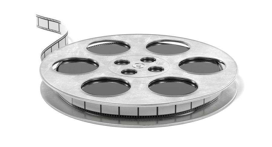 Film Reel royalty-free 3d model - Preview no. 7