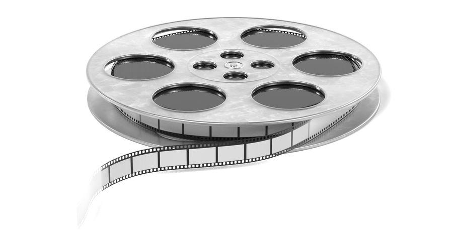 Film Reel royalty-free 3d model - Preview no. 6