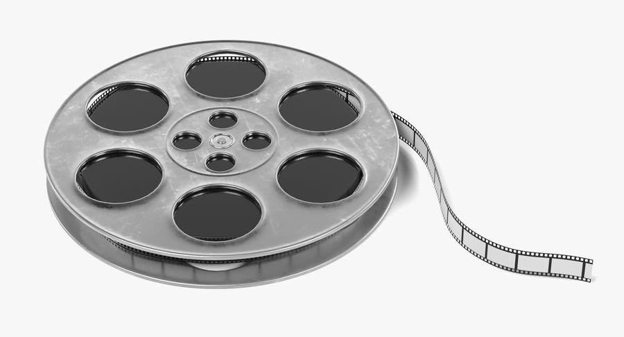 Film Reel royalty-free 3d model - Preview no. 2