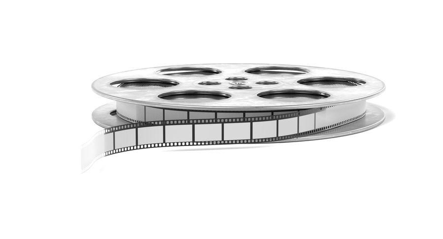 Film Reel royalty-free 3d model - Preview no. 10