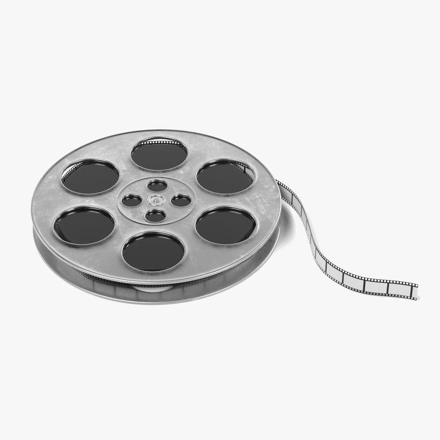 Film Reel royalty-free 3d model - Preview no. 1