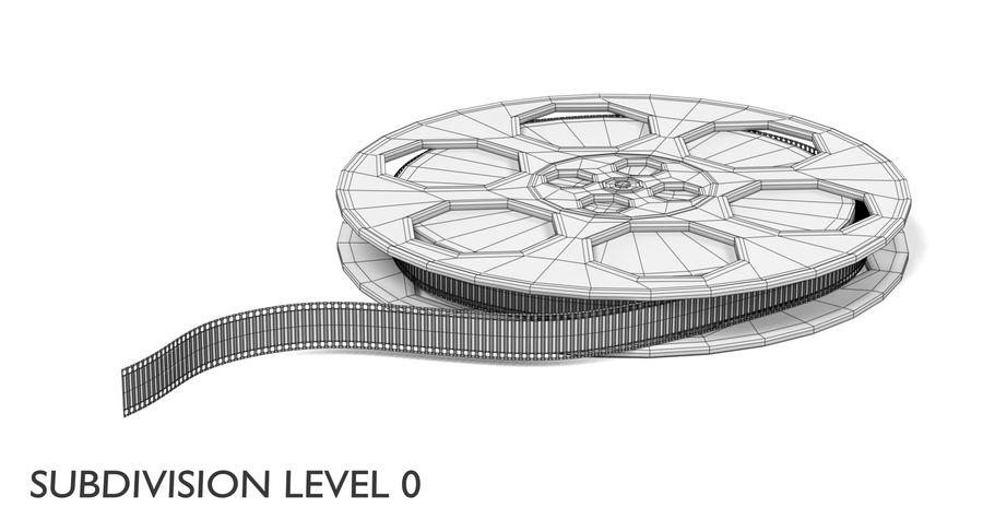 Film Reel royalty-free 3d model - Preview no. 14