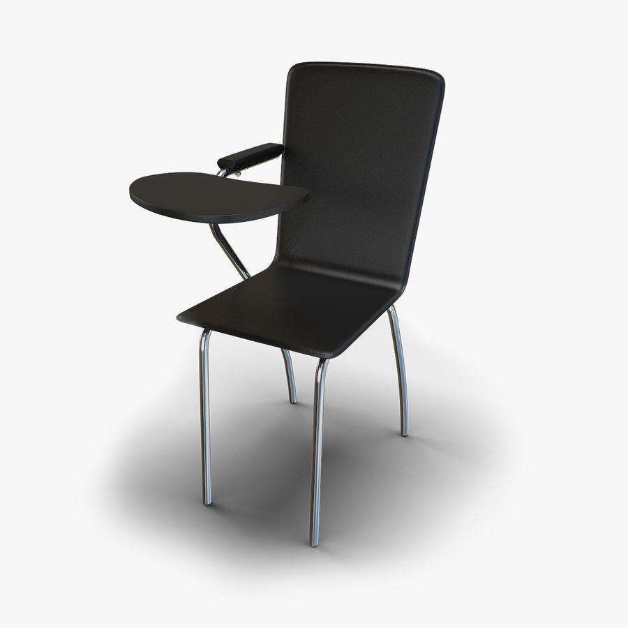 教室の椅子 royalty-free 3d model - Preview no. 1