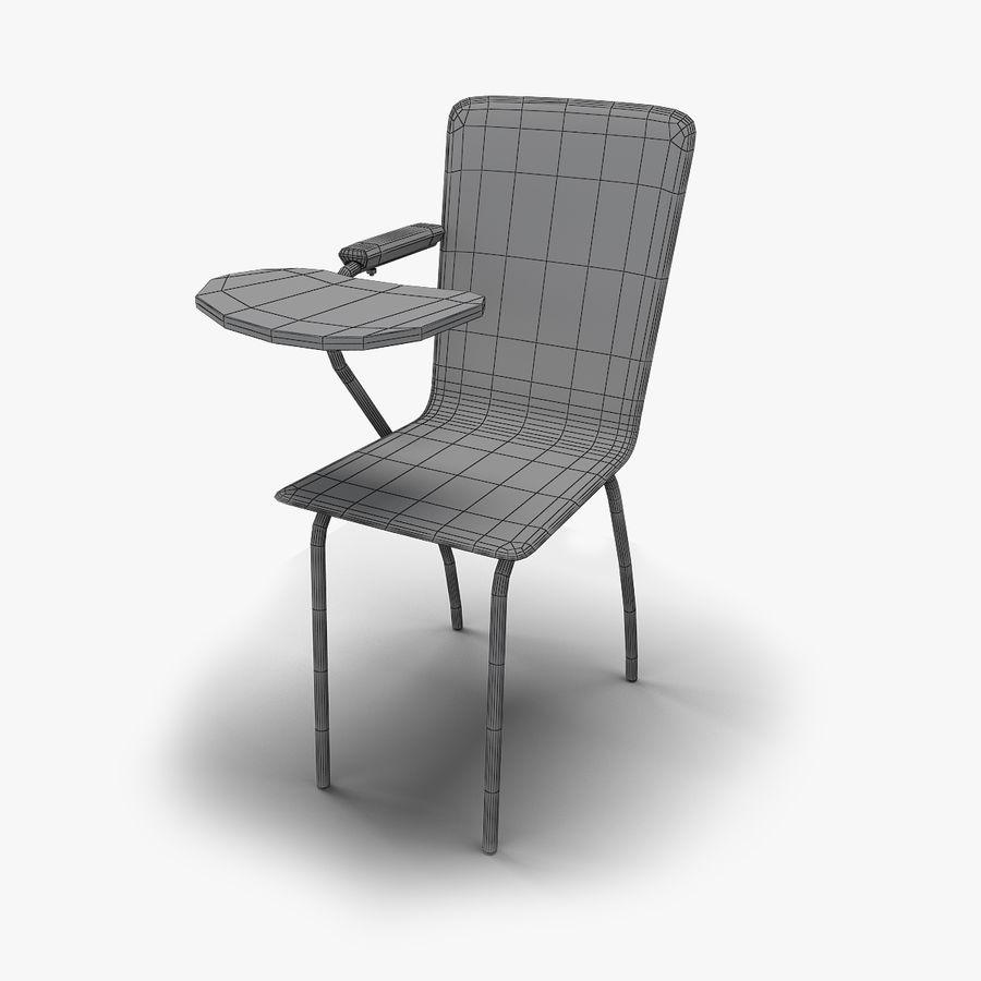 教室の椅子 royalty-free 3d model - Preview no. 6
