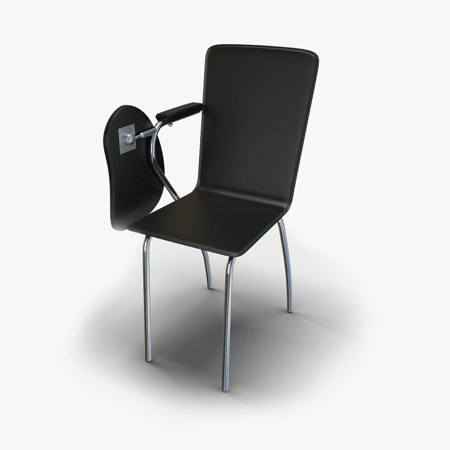教室の椅子 royalty-free 3d model - Preview no. 2