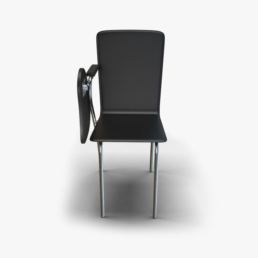 教室の椅子 royalty-free 3d model - Preview no. 3