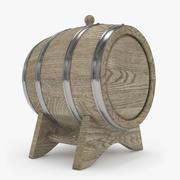 桶橡木 3d model