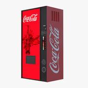 Coke Vending Machine 3d model