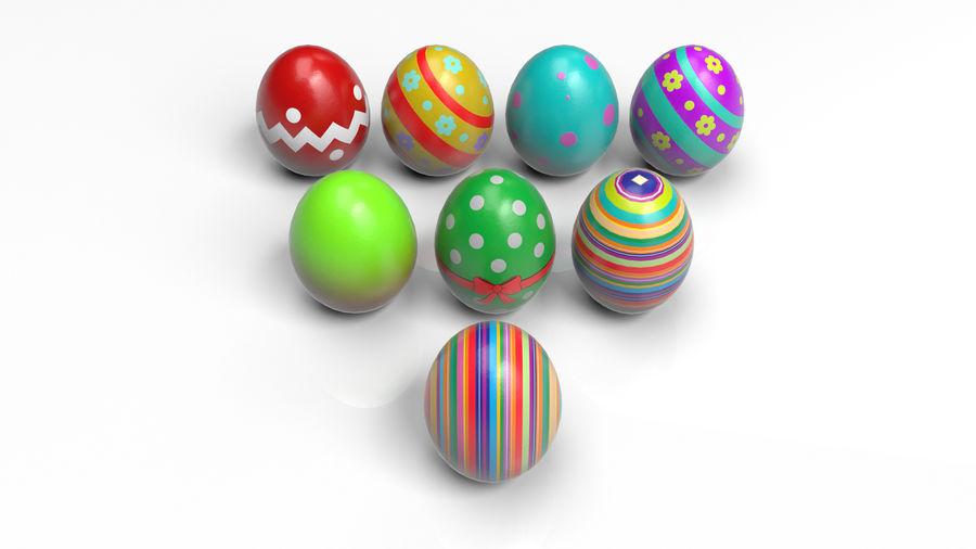 œufs de Pâques royalty-free 3d model - Preview no. 1