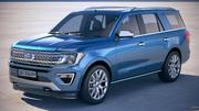 Ford Expedition 2018 3d model
