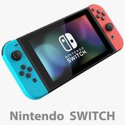 Console Nintendo Switch + JoyCon 3d model