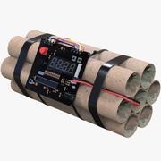 Bomb Wecker 3d model