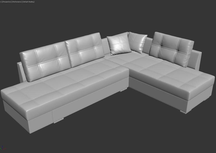 Large Corner Sofa Franchesca 3D Model $49 - .max .obj .fbx ...