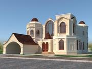 Casa russa 2 3d model