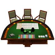 Stół Kasyna 3d model