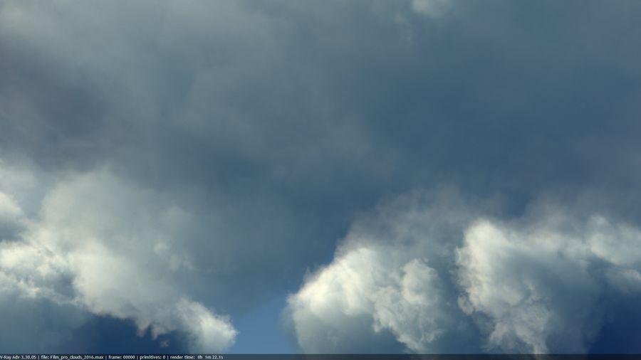 Des nuages royalty-free 3d model - Preview no. 6