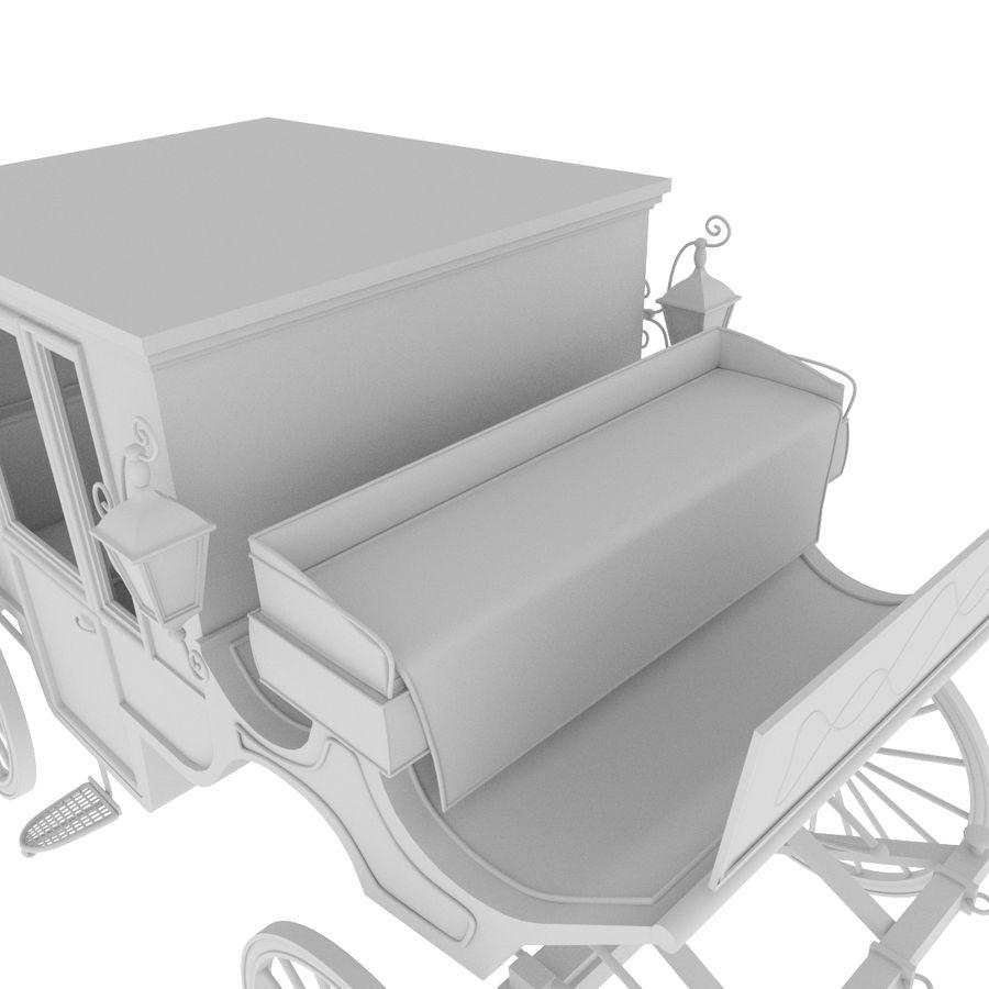 Carrozza royalty-free 3d model - Preview no. 35