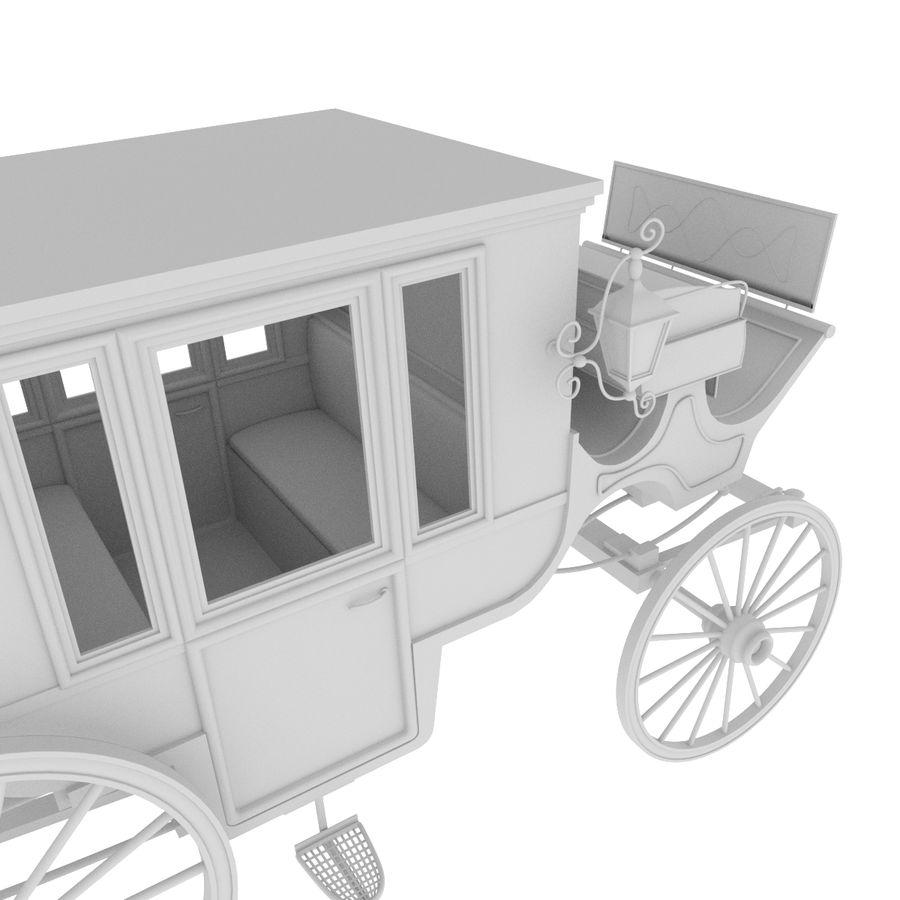 Carrozza royalty-free 3d model - Preview no. 34