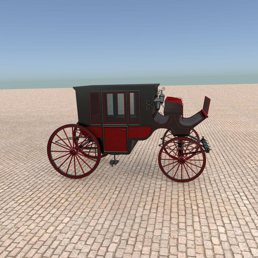 Carrozza royalty-free 3d model - Preview no. 13