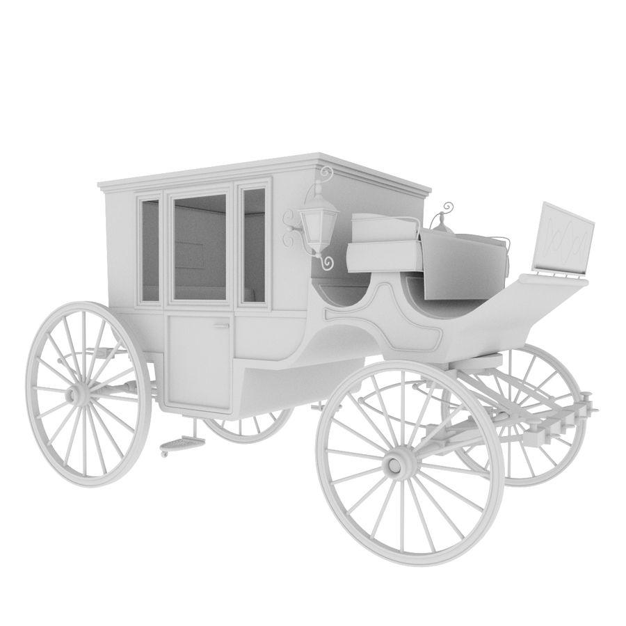 Carrozza royalty-free 3d model - Preview no. 31