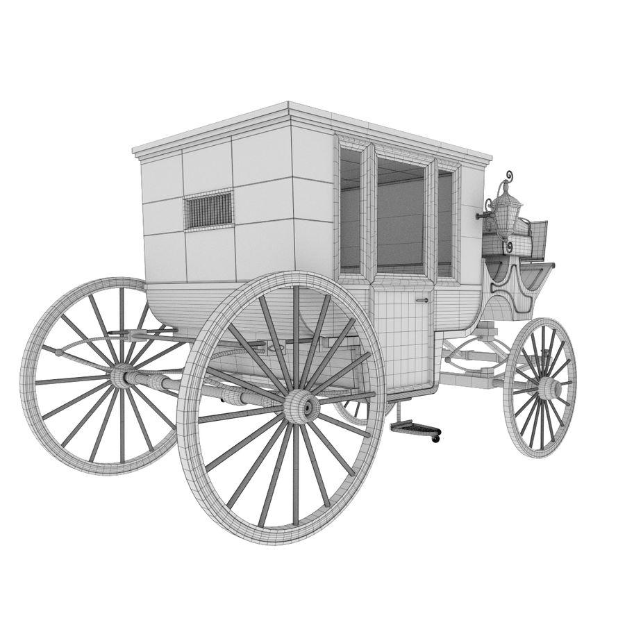 Carrozza royalty-free 3d model - Preview no. 19