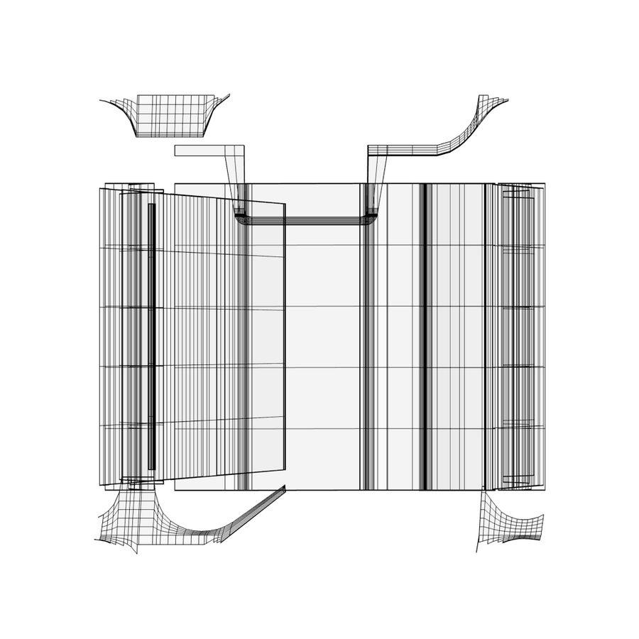 Carrozza royalty-free 3d model - Preview no. 28