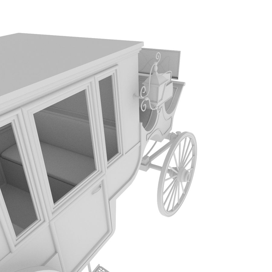 Carrozza royalty-free 3d model - Preview no. 36