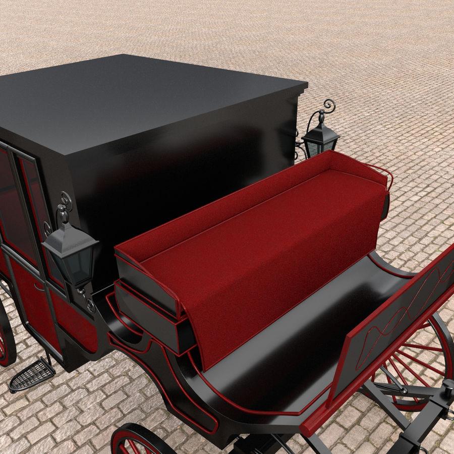 Carrozza royalty-free 3d model - Preview no. 11