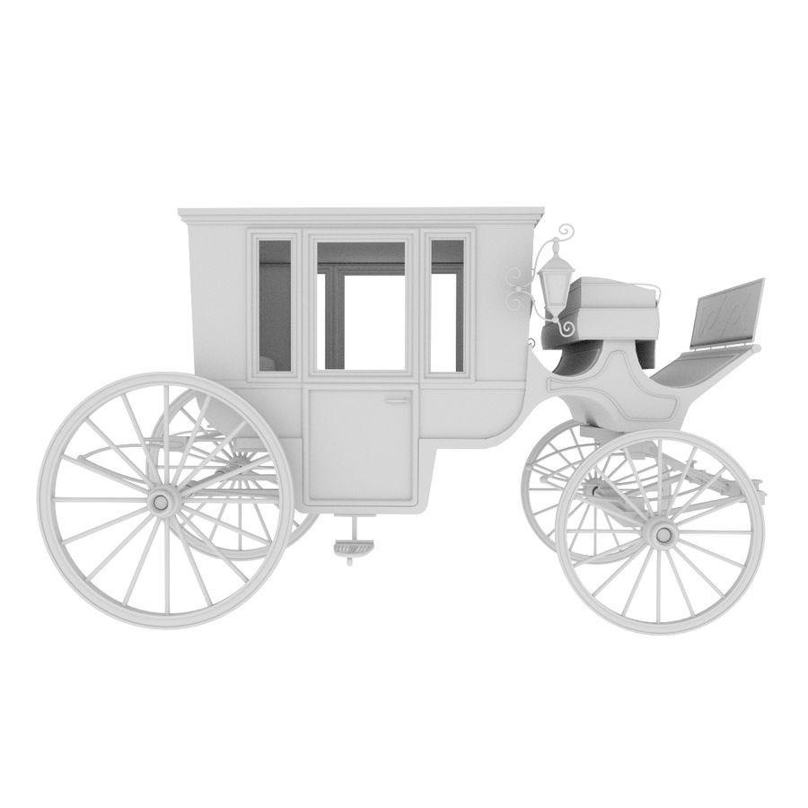 Carrozza royalty-free 3d model - Preview no. 30
