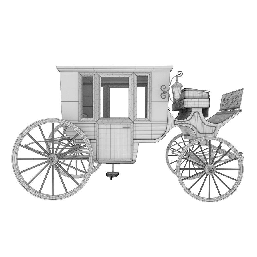 Carrozza royalty-free 3d model - Preview no. 18