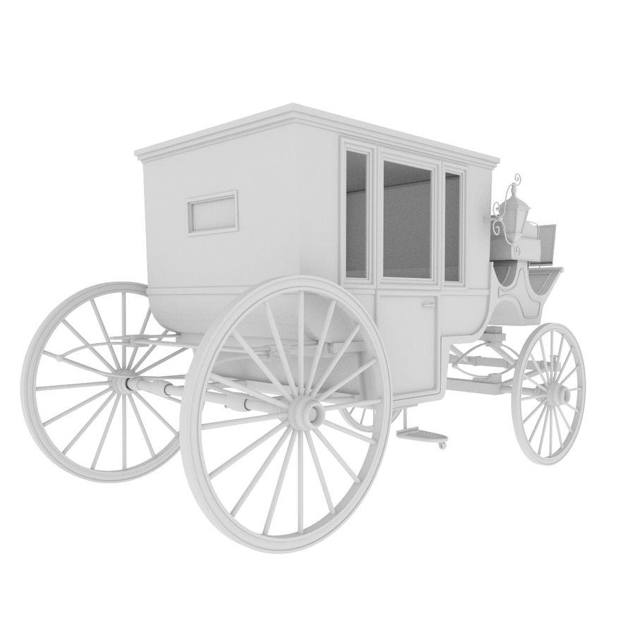 Carrozza royalty-free 3d model - Preview no. 32