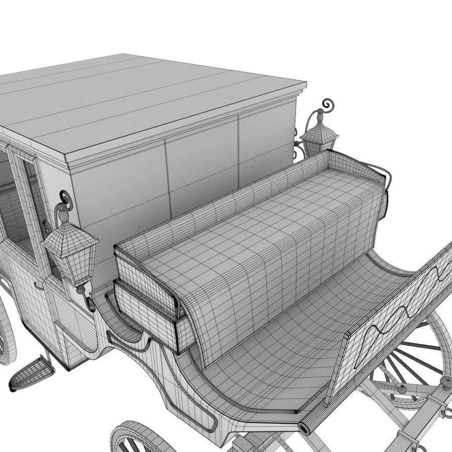 Carrozza royalty-free 3d model - Preview no. 24