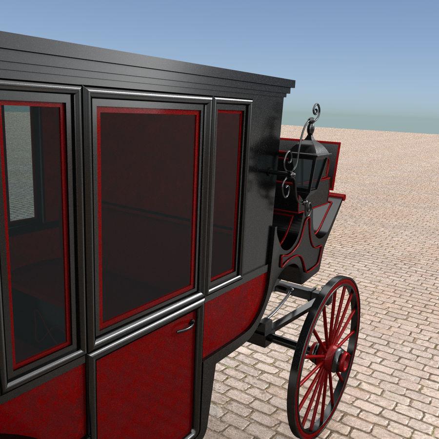 Carrozza royalty-free 3d model - Preview no. 10