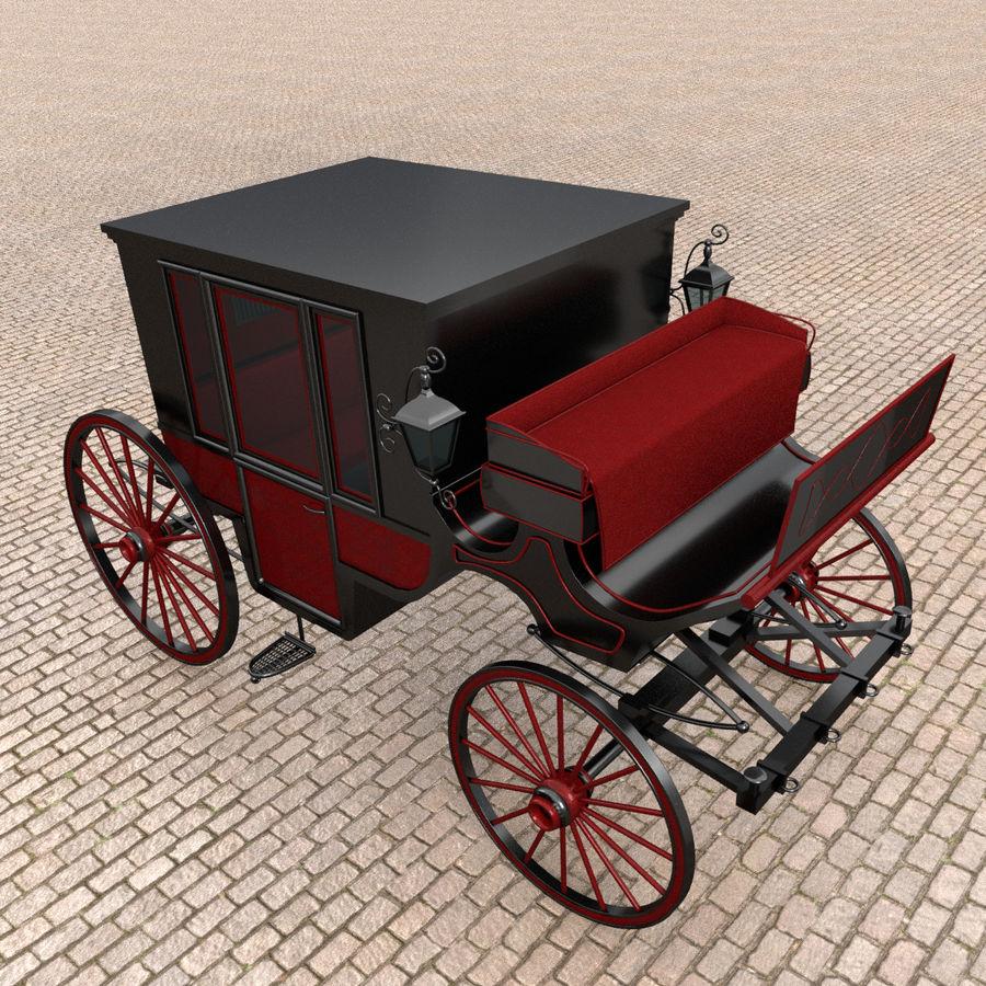 Carrozza royalty-free 3d model - Preview no. 8