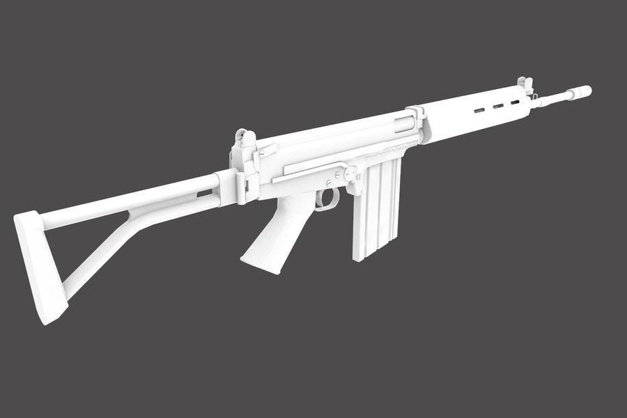 FN FALパック royalty-free 3d model - Preview no. 28