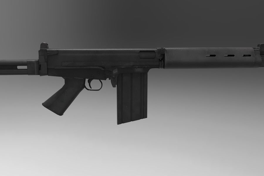 FN FALパック royalty-free 3d model - Preview no. 25
