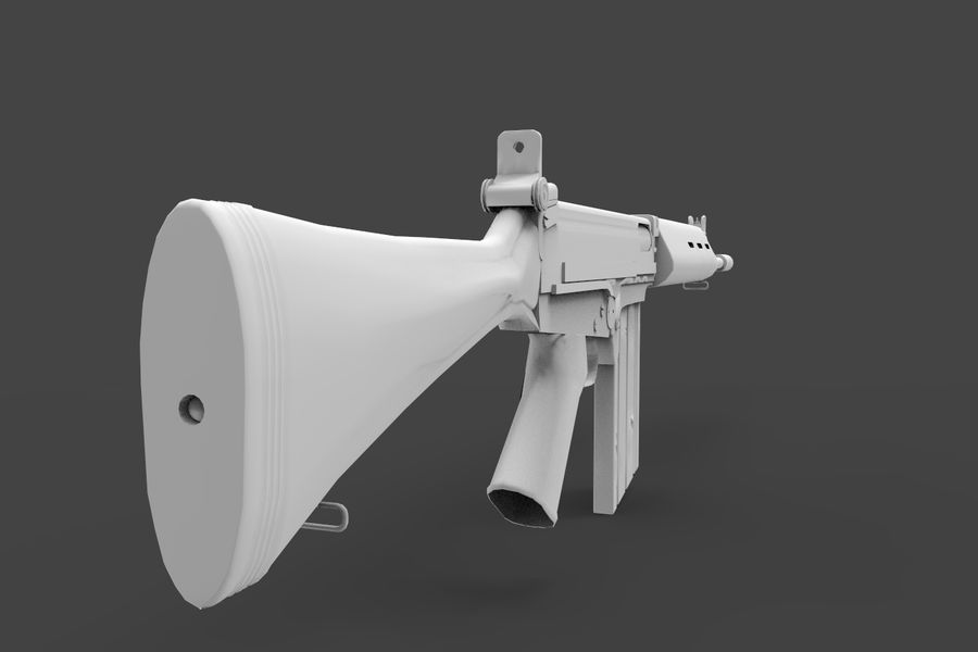 FN FALパック royalty-free 3d model - Preview no. 13