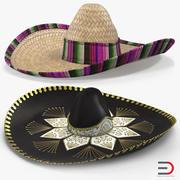 Sombreros 3D Modelsコレクション 3d model