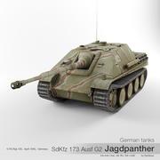 German tank Sd Kfz 173 Jagdpanther