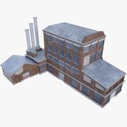 Oude fabriek 3d model