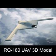 RQ-180 Unmanned reconnaissance aircraft 3d model